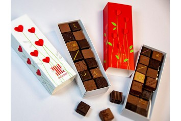 Boite rouge 28 chocolats